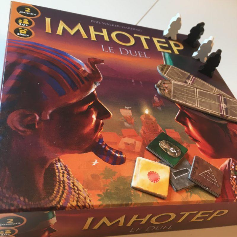 Imhotep Le Duel ! Qui l'emportera ?