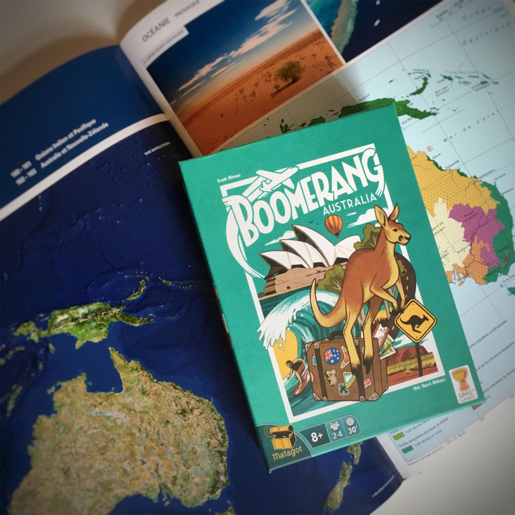 Boomerang : Australie, de l'Outback aux métropoles côtières