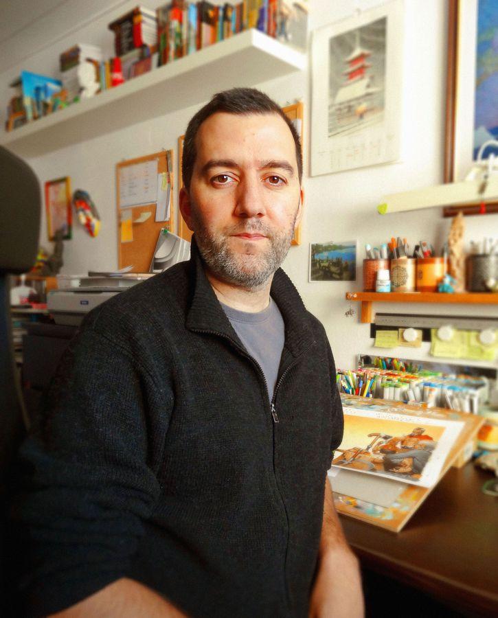 Interview Dé'Tonante de l'illustrateur Vincent Dutrait